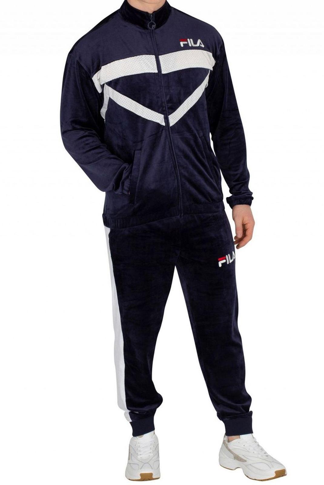 Pantalons sport/streetwear  Fila 684468 gunner 3 peacoat