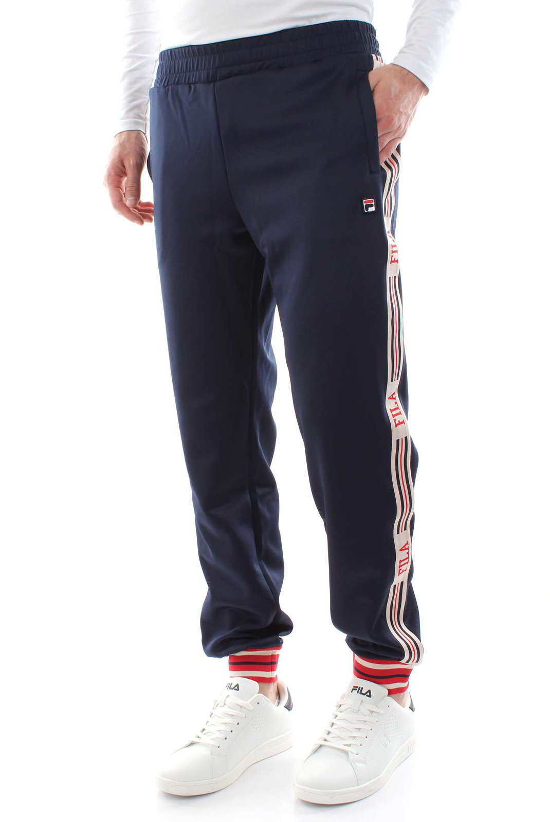 Pantalons sport/streetwear  Fila 687006 lou 170 BLACK IRIS