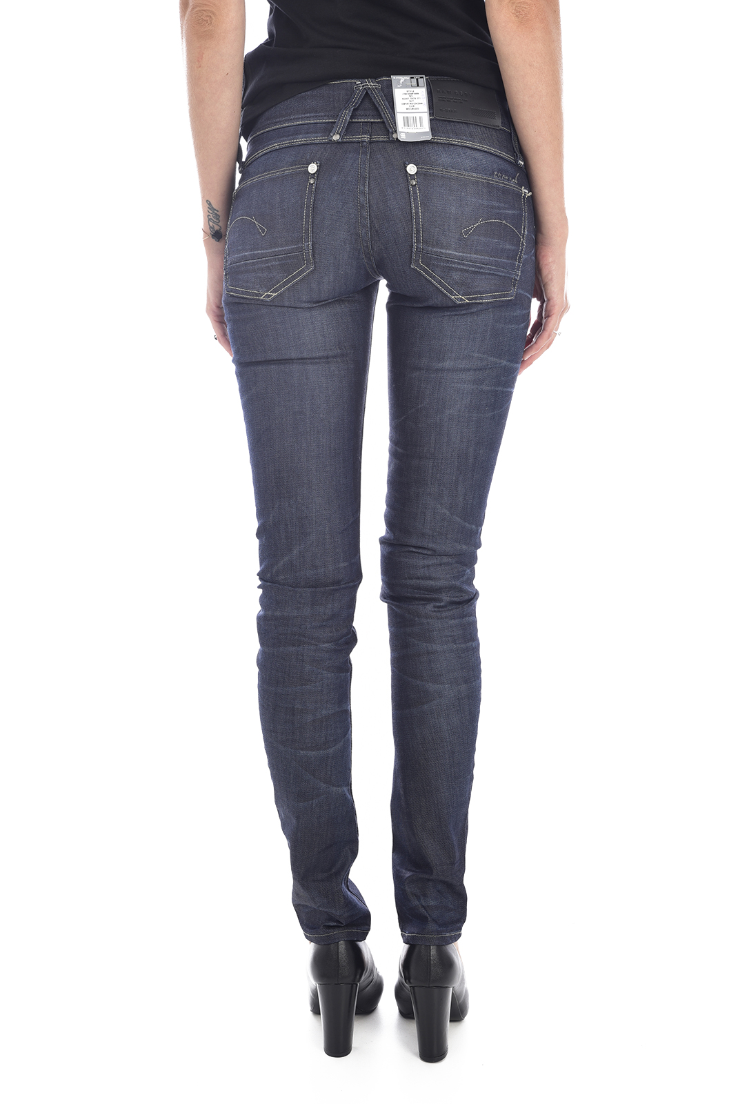 Jeans   G-star 60367-5479-071 lynn bleu