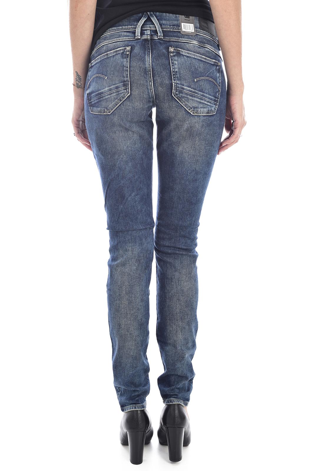 Jeans   G-star 60885-6128-071 lynn bleu