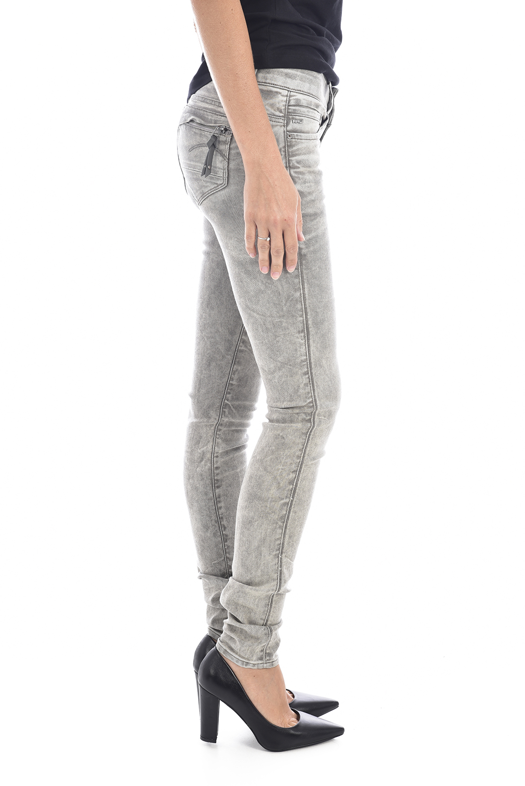Jeans   G-star 60883-6750-5214 midge cody gris