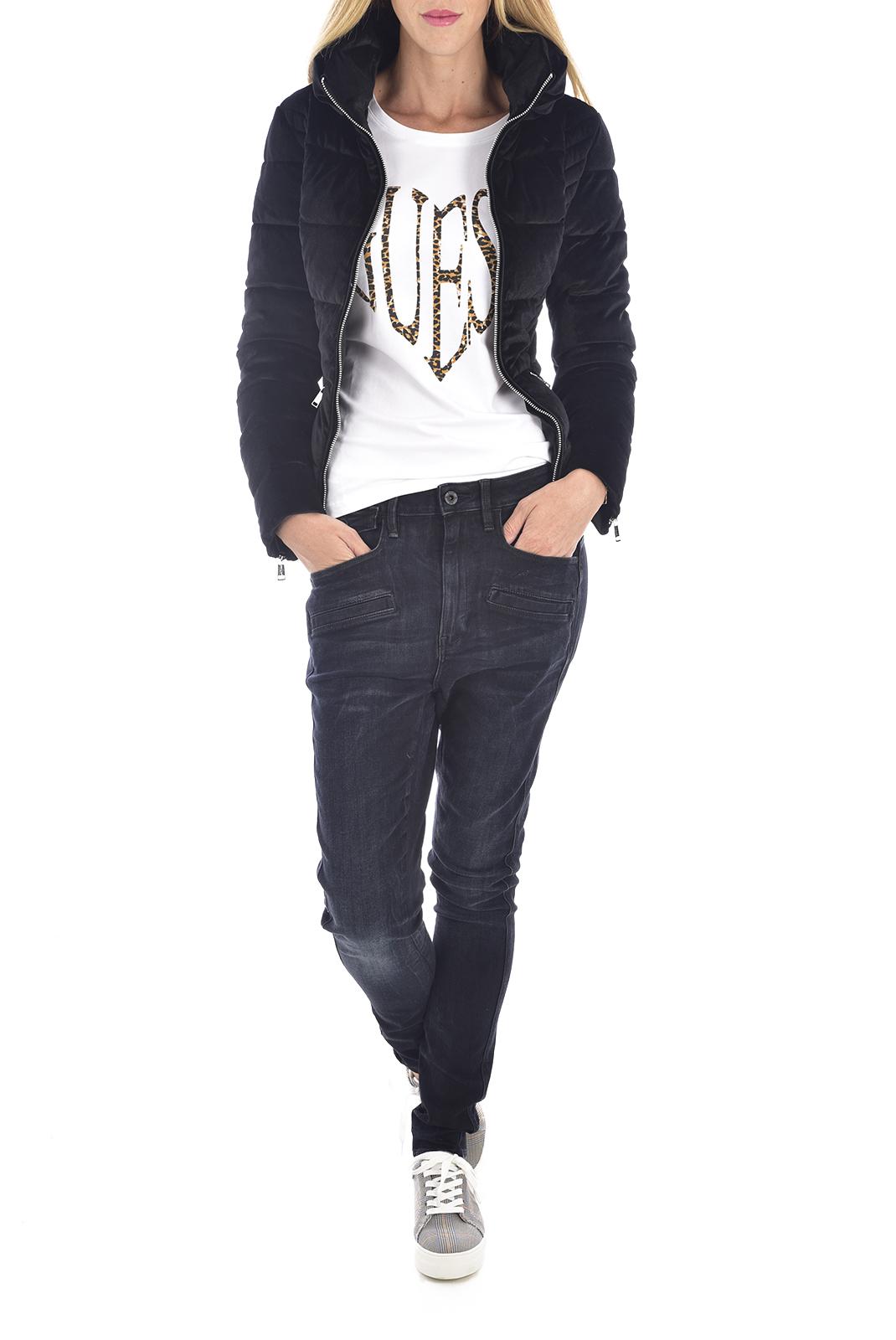 Blouson / doudoune  Guess jeans W94L0I WC570 Jet Black A996