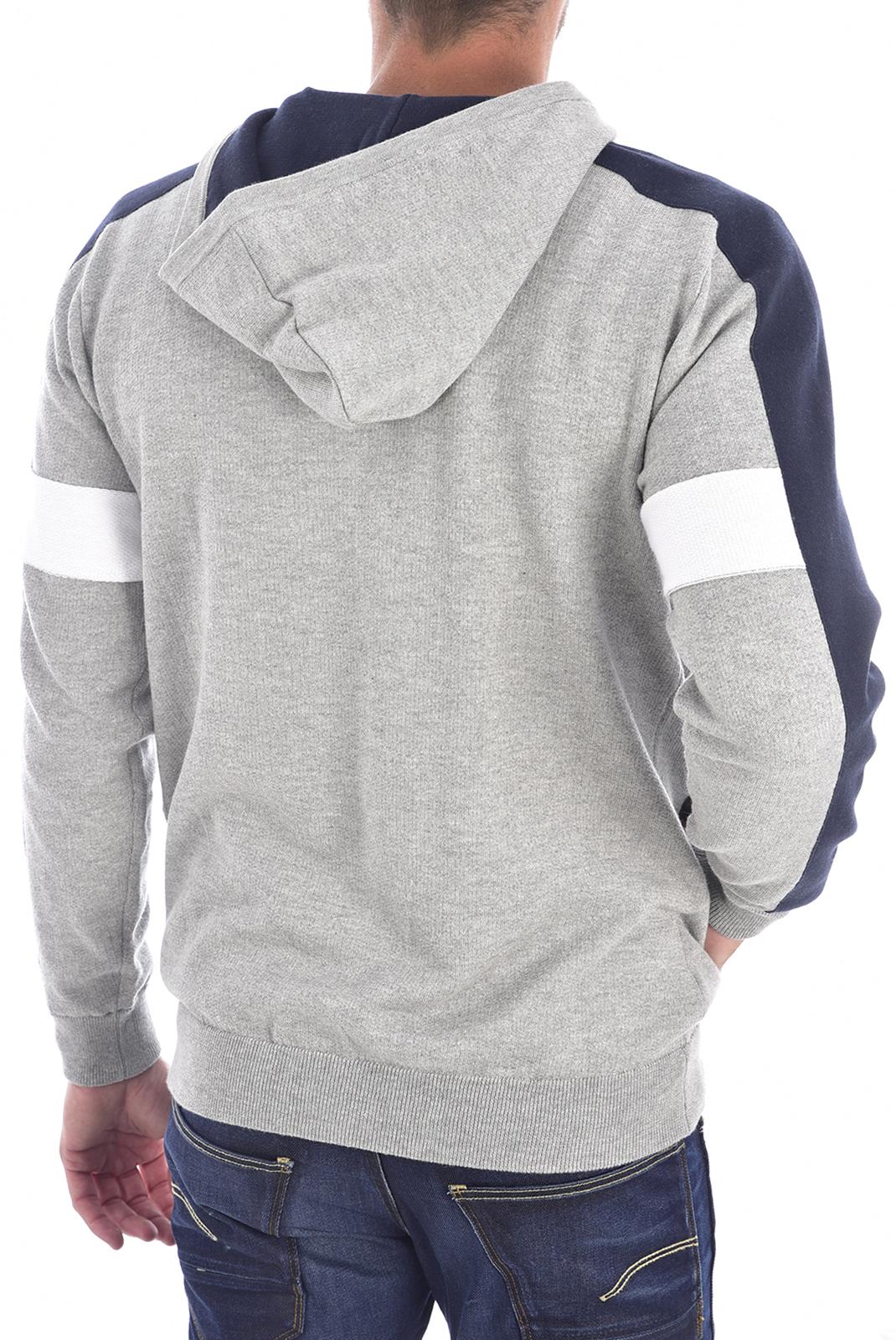 Vestes zippées  Guess jeans M94R59 Z2HL0 STONE HEATHER GREY