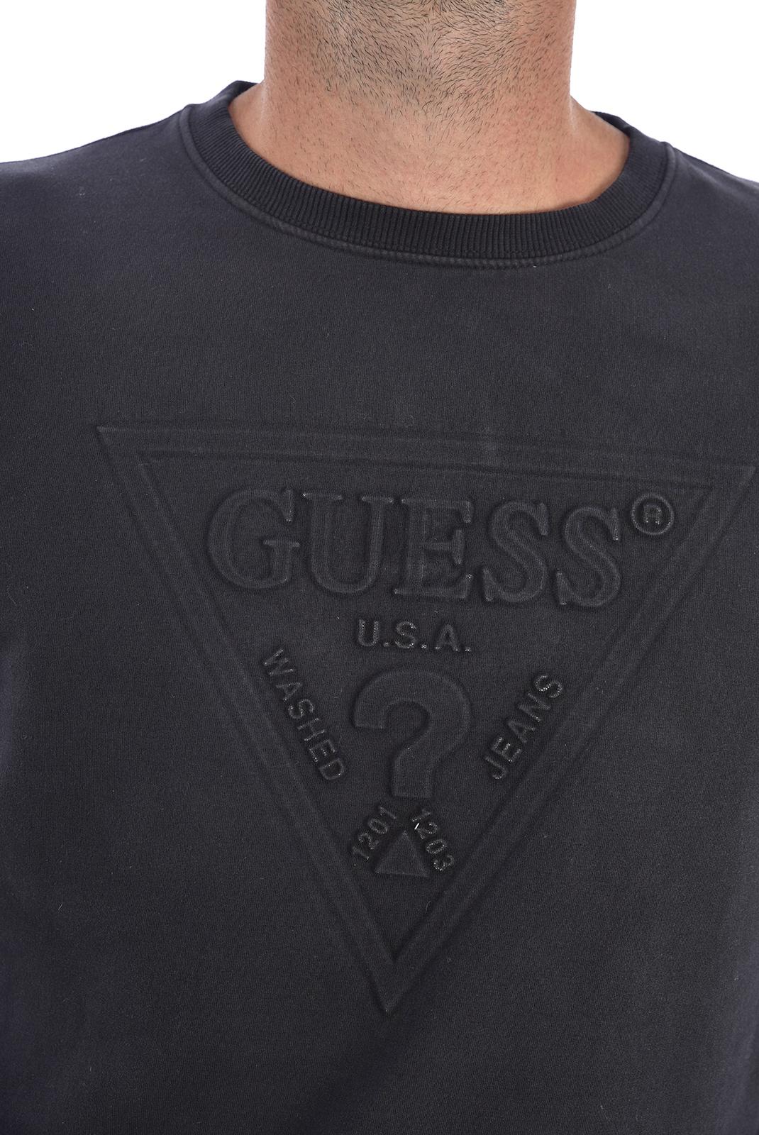Pulls & Gilets  Guess jeans M94Q35 K92C0 Jet Black A996