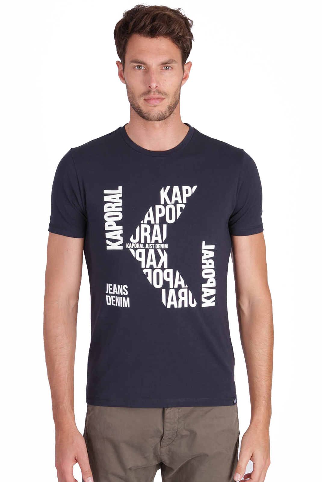 T-S manches courtes  Kaporal GERLI NAVY
