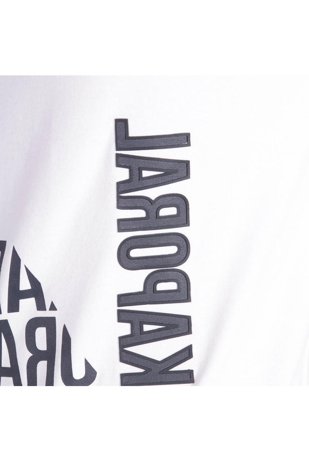 T-S manches courtes  Kaporal GERLI WHITE