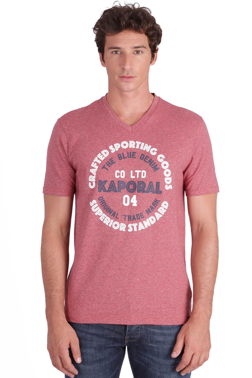 Tee-shirts  Kaporal GOLIA CHERRY MEL