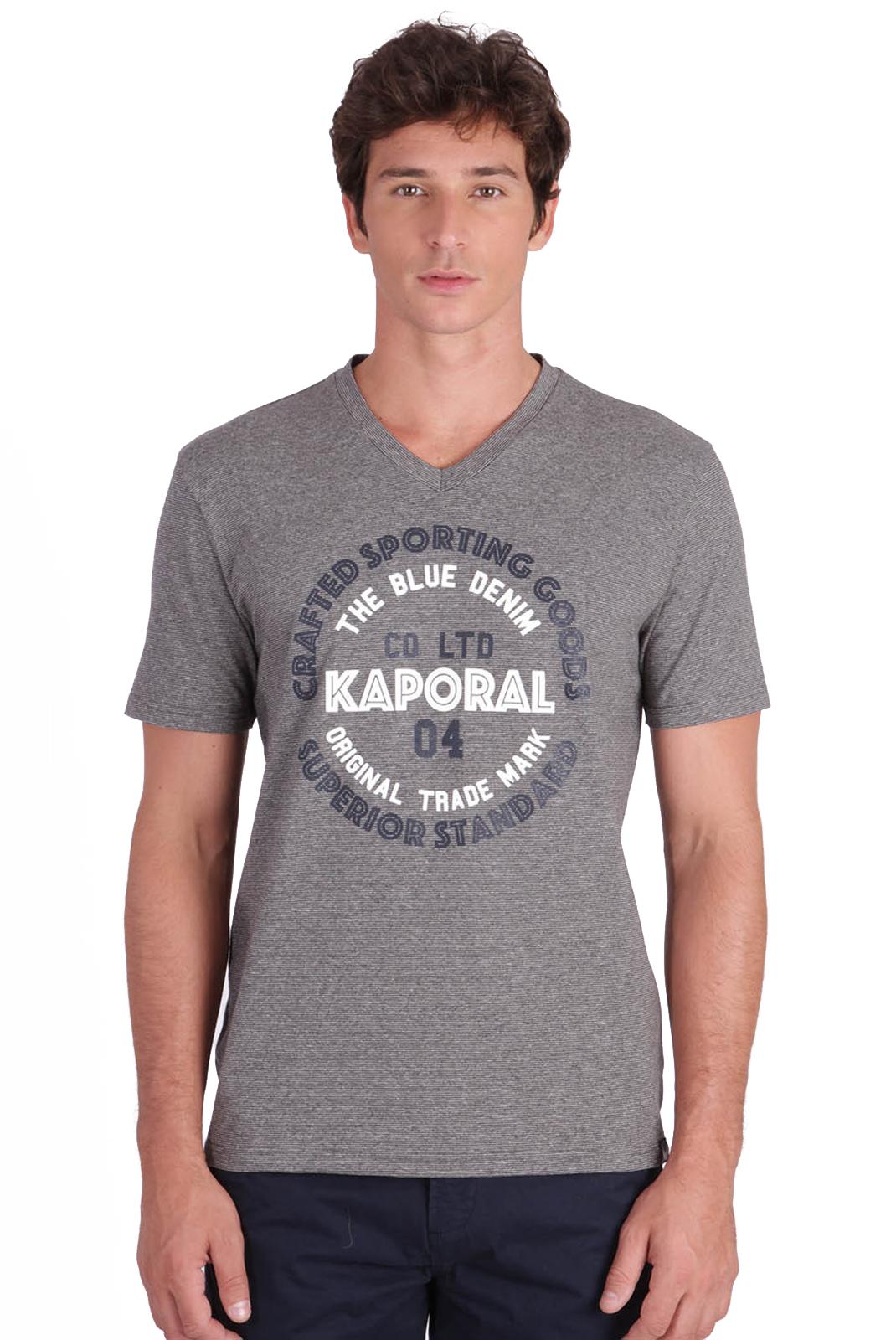 Tee-shirts  Kaporal GOLIA MEDIUIM GRE MEL