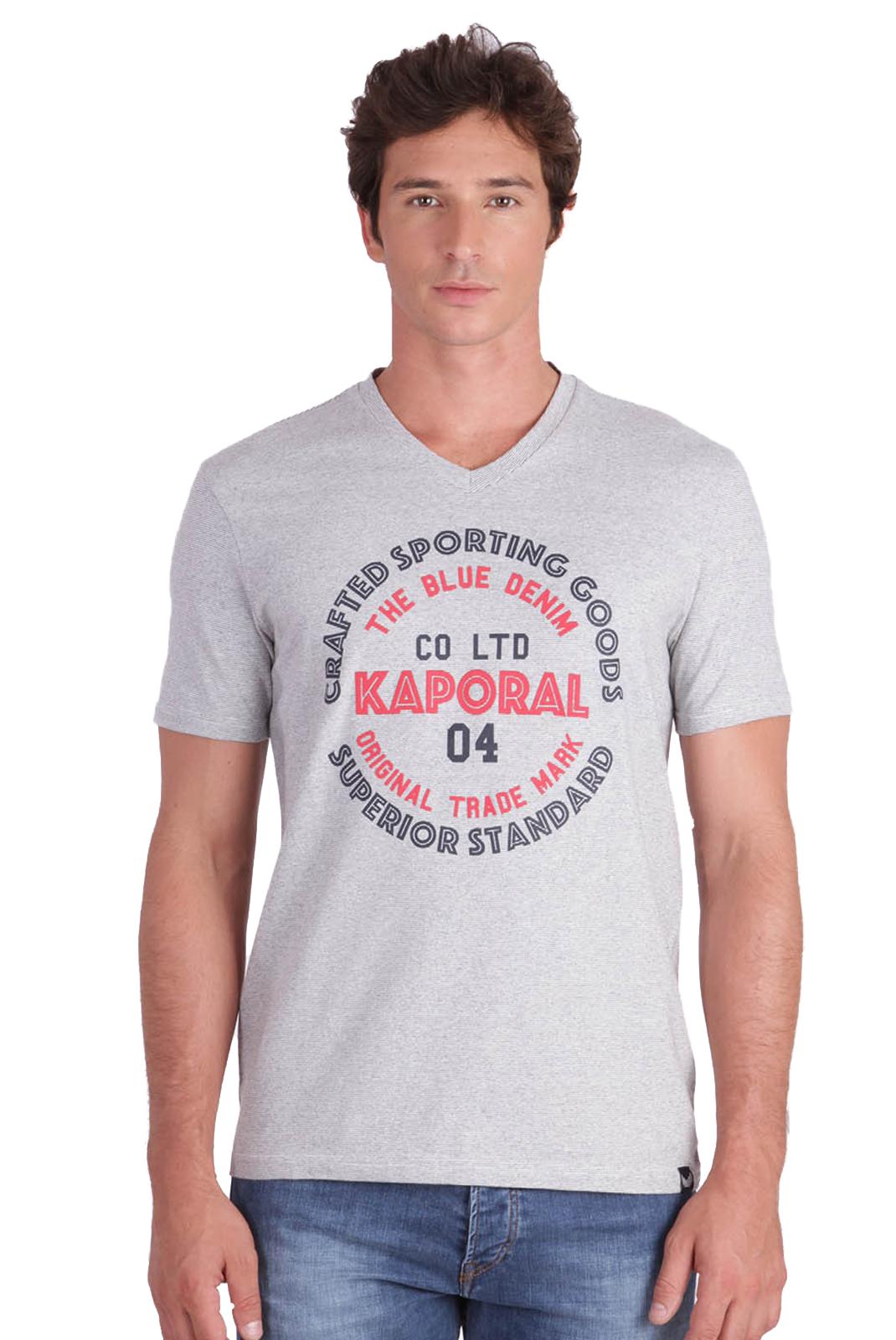 Tee-shirts  Kaporal GOLIA WHITE MEL