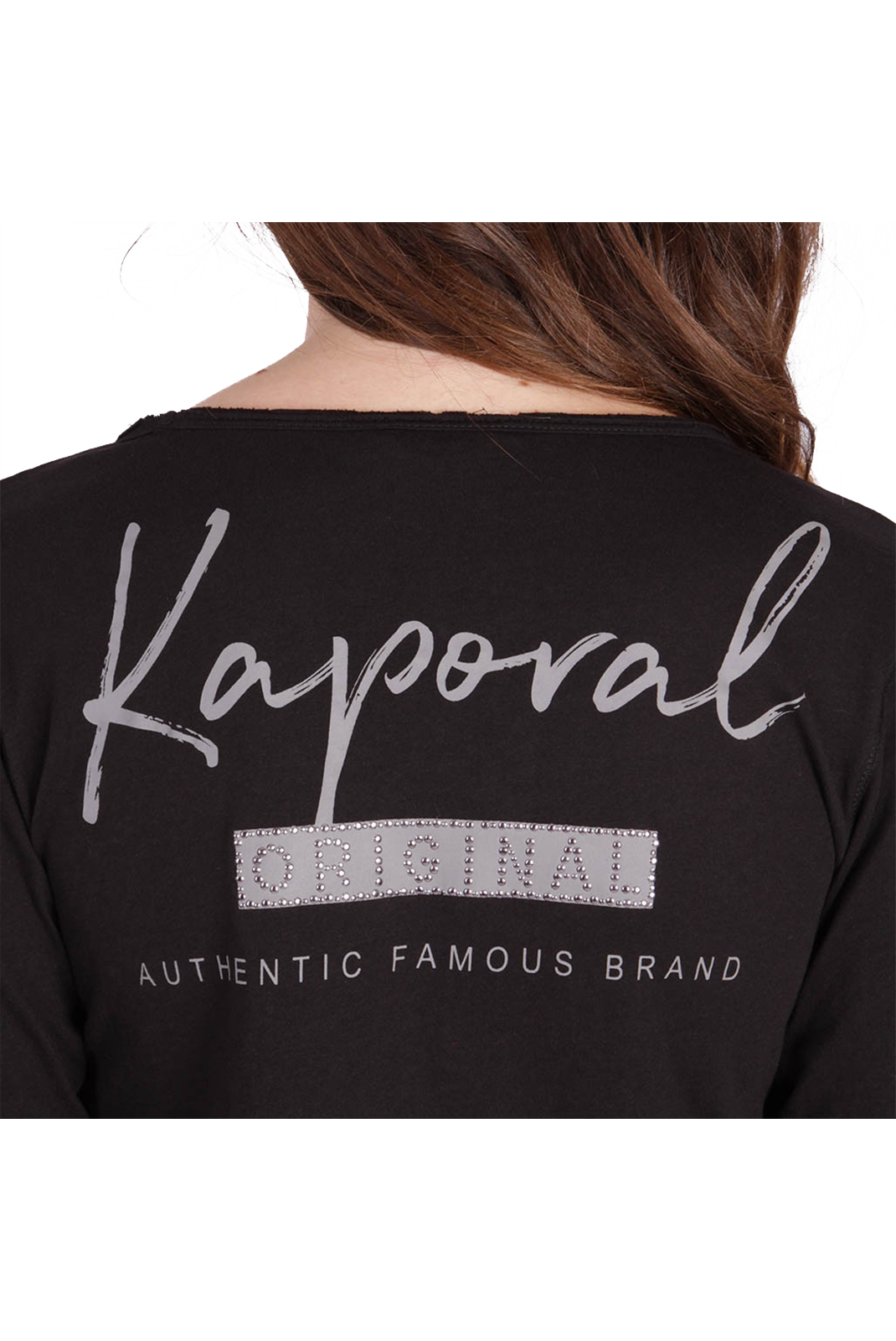 Tee shirt manches longues  Kaporal XOUT BLACK
