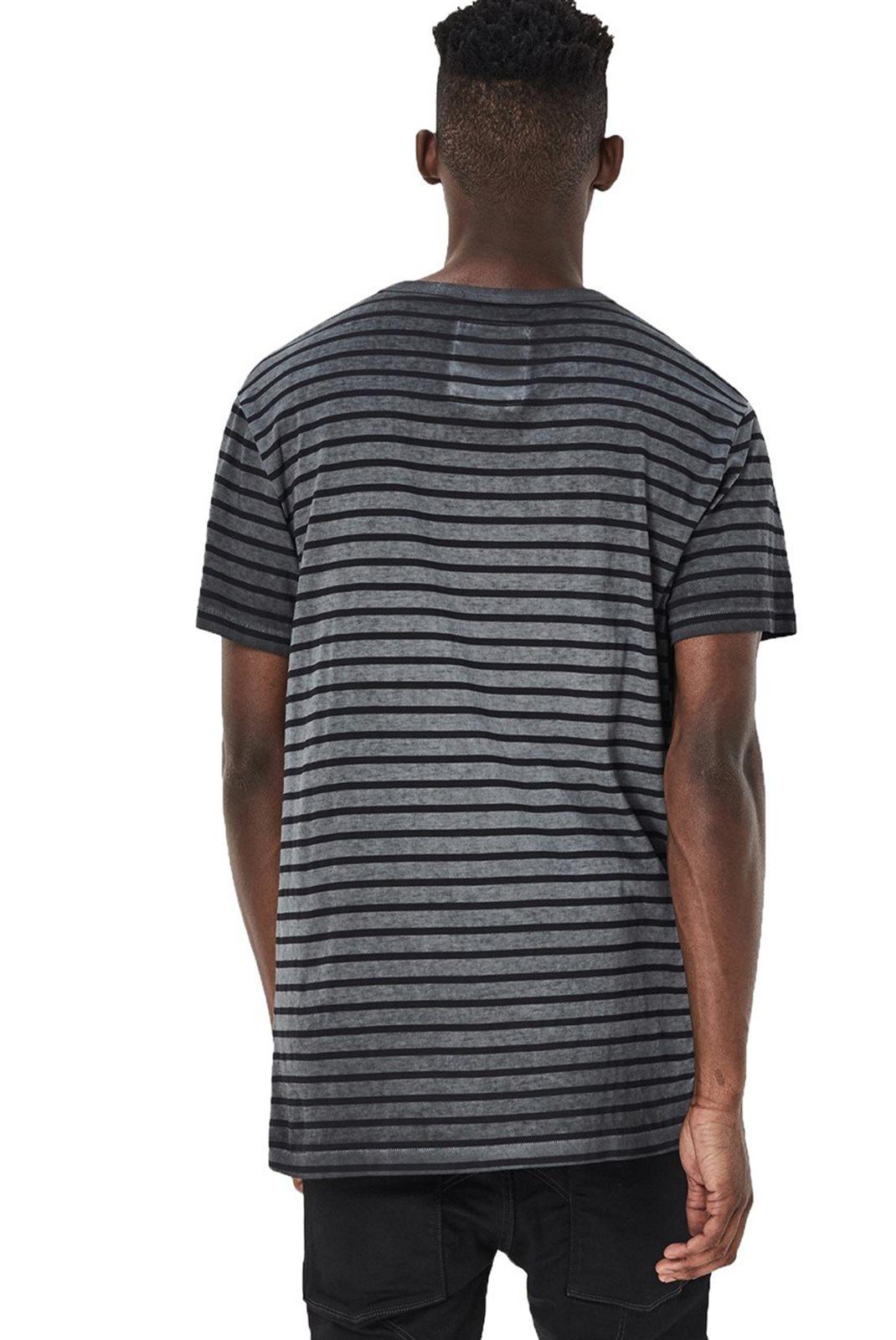 Tee-shirts  G-star D02423-8199-7065 rancis gris