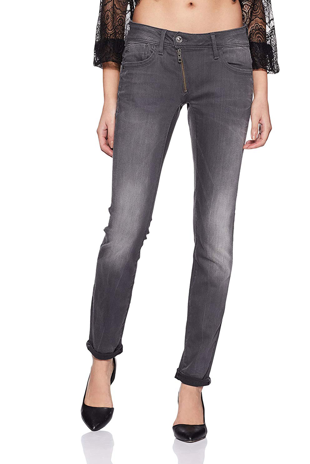 Jeans   G-star 60887-6132-071 lynn gris