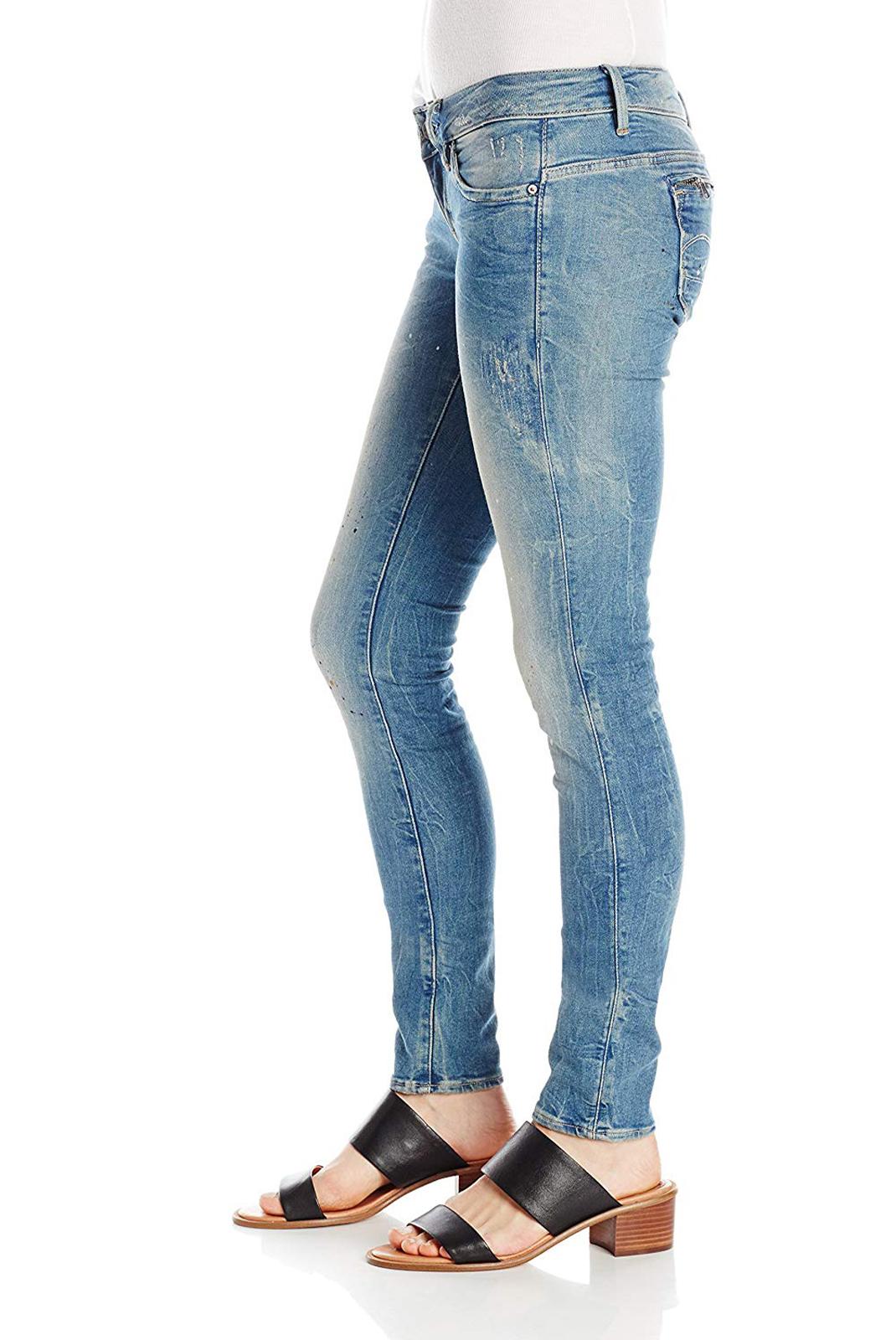 Jeans   G-star 60901-5169-5546 midge bleu