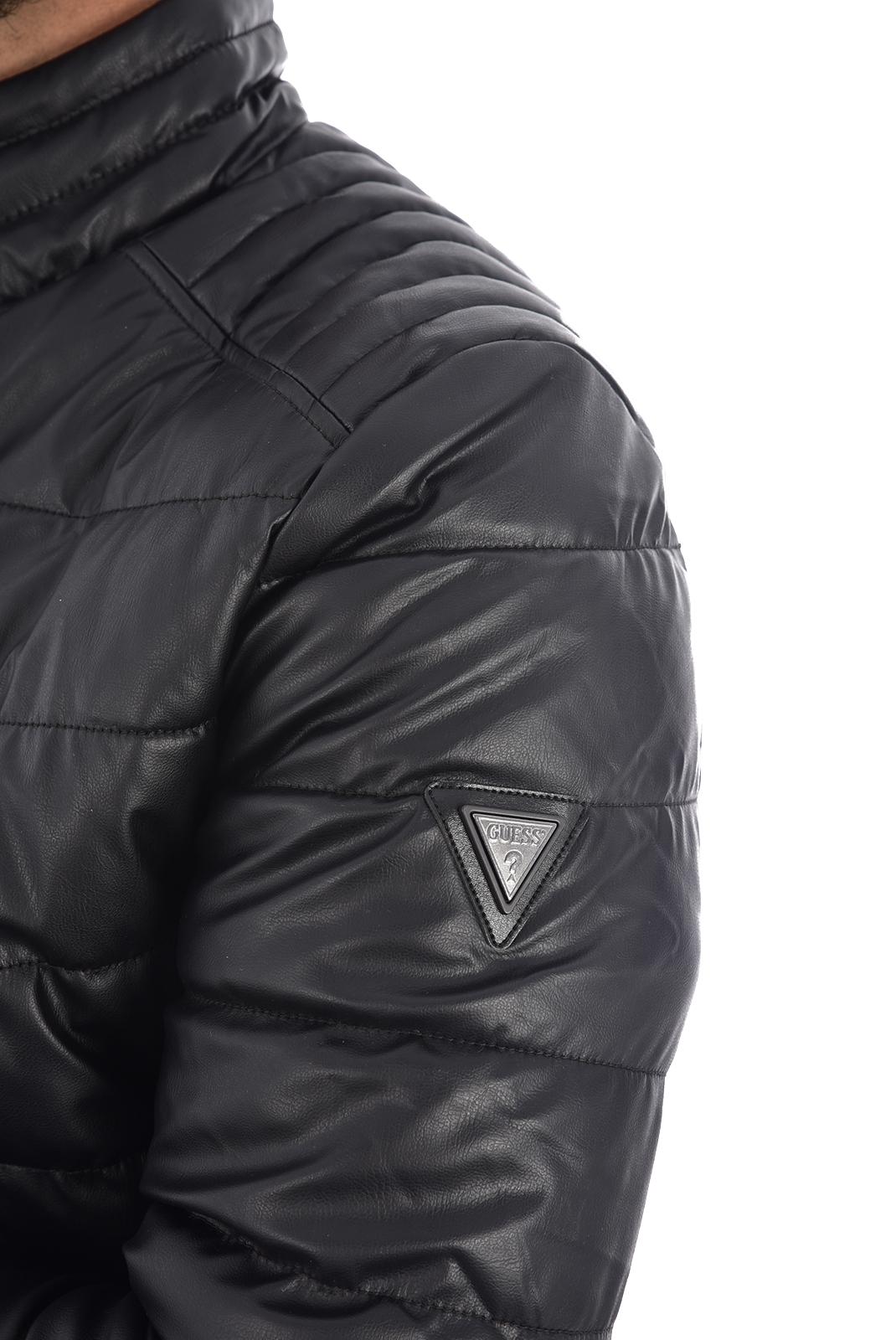 Blousons / doudounes  Guess jeans M94L43 WABC0 Jet Black A996