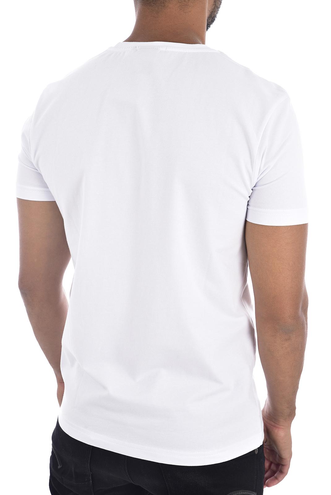 Tee-shirts  Redskins RICH CALDER WHITE