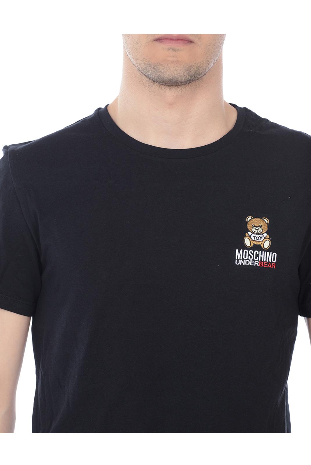 Tee-shirts  Moschino A1905 0555 NOIR