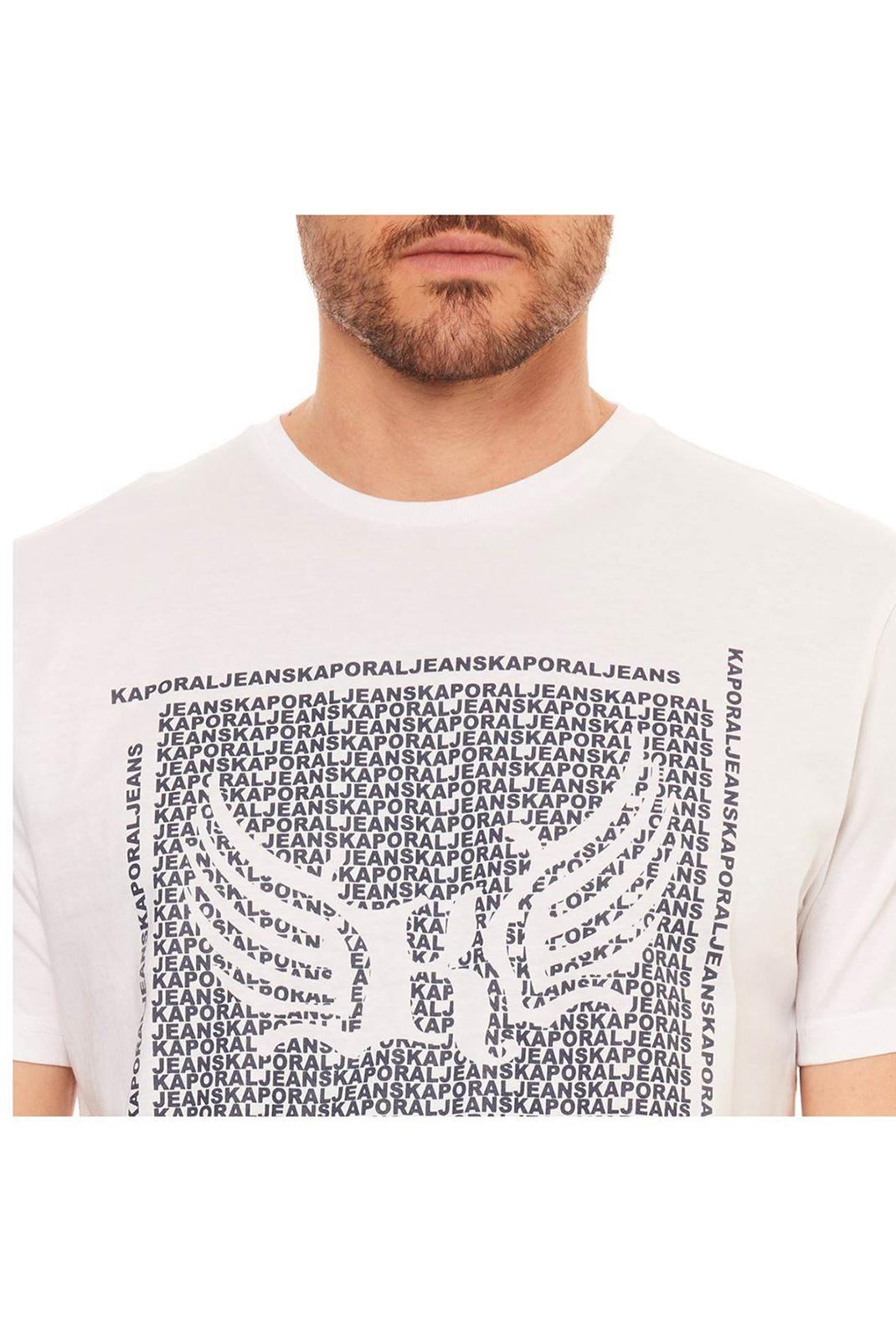 Tee-shirts  Kaporal PASTO h19 WHITE