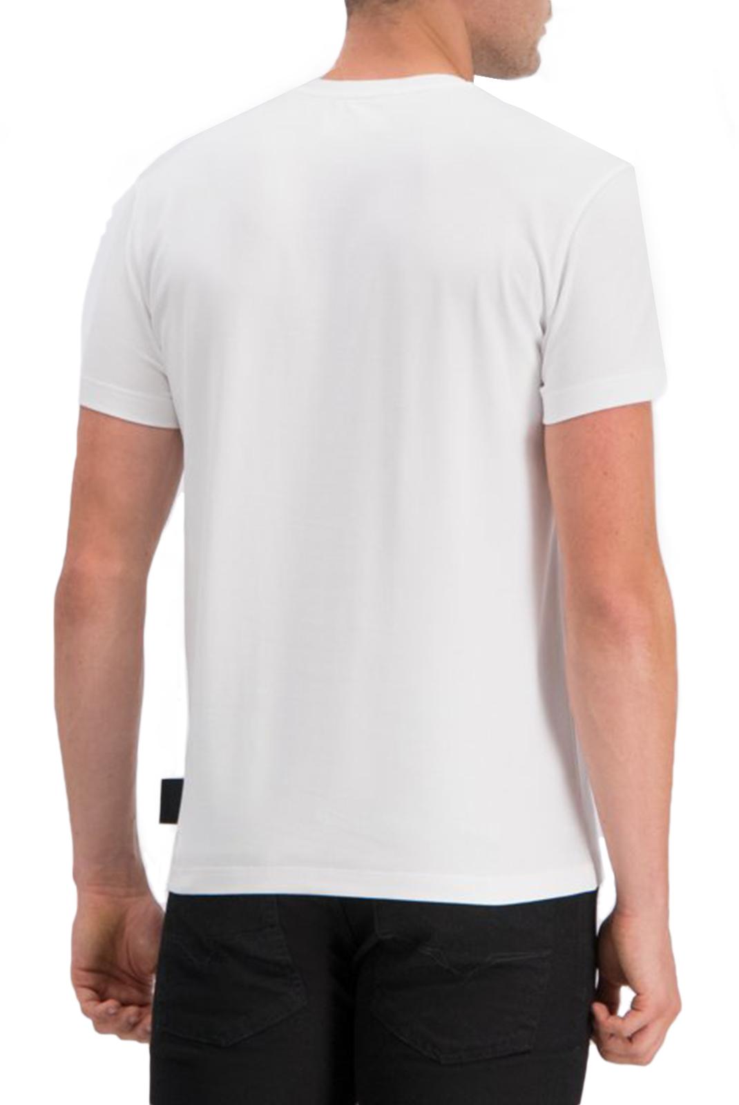 Tee-shirts  Versace Jeans B3GUA7EA BAROQUE WHITE