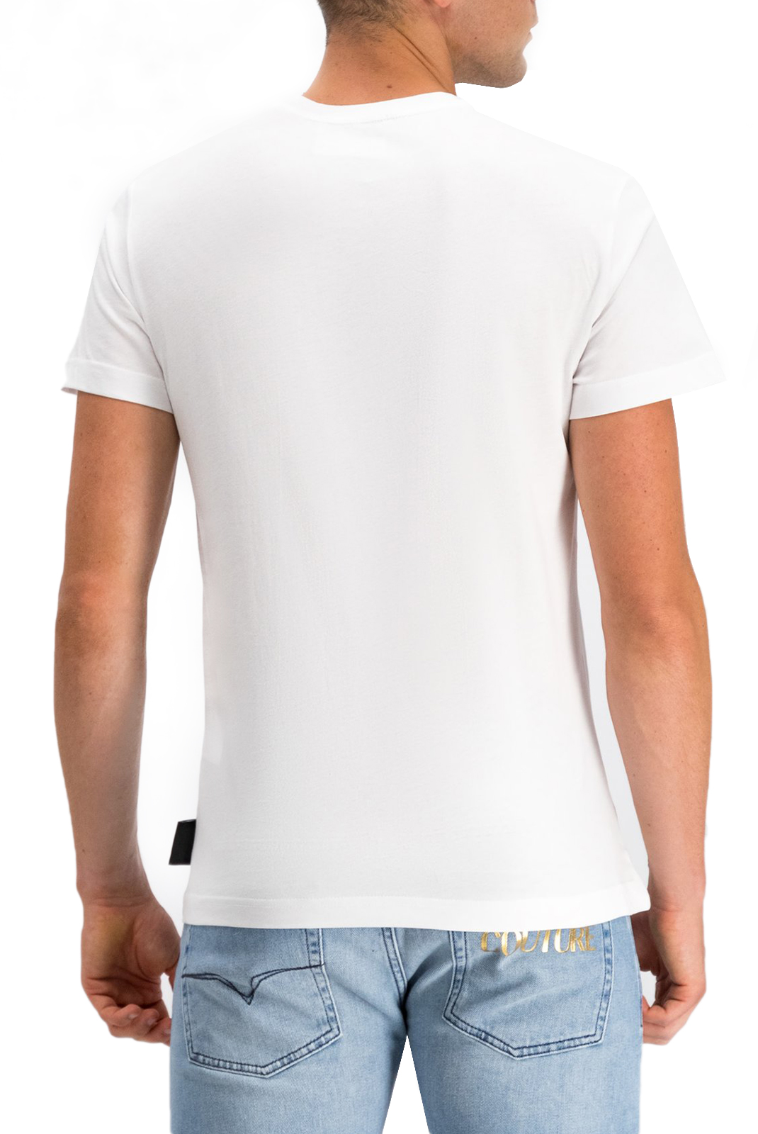 Tee-shirts  Versace Jeans B3GUA7EB ADRIANO WHITE