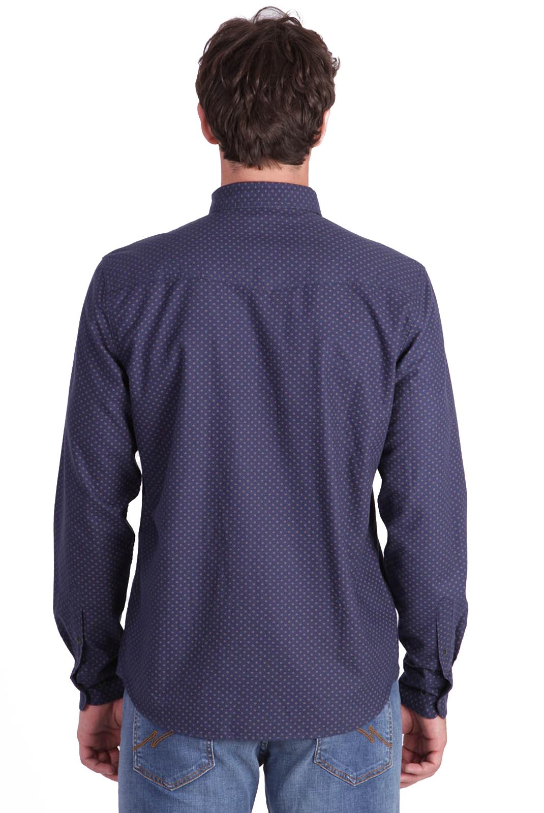 Chemises manches longues  Kaporal ORVIK BLUE US