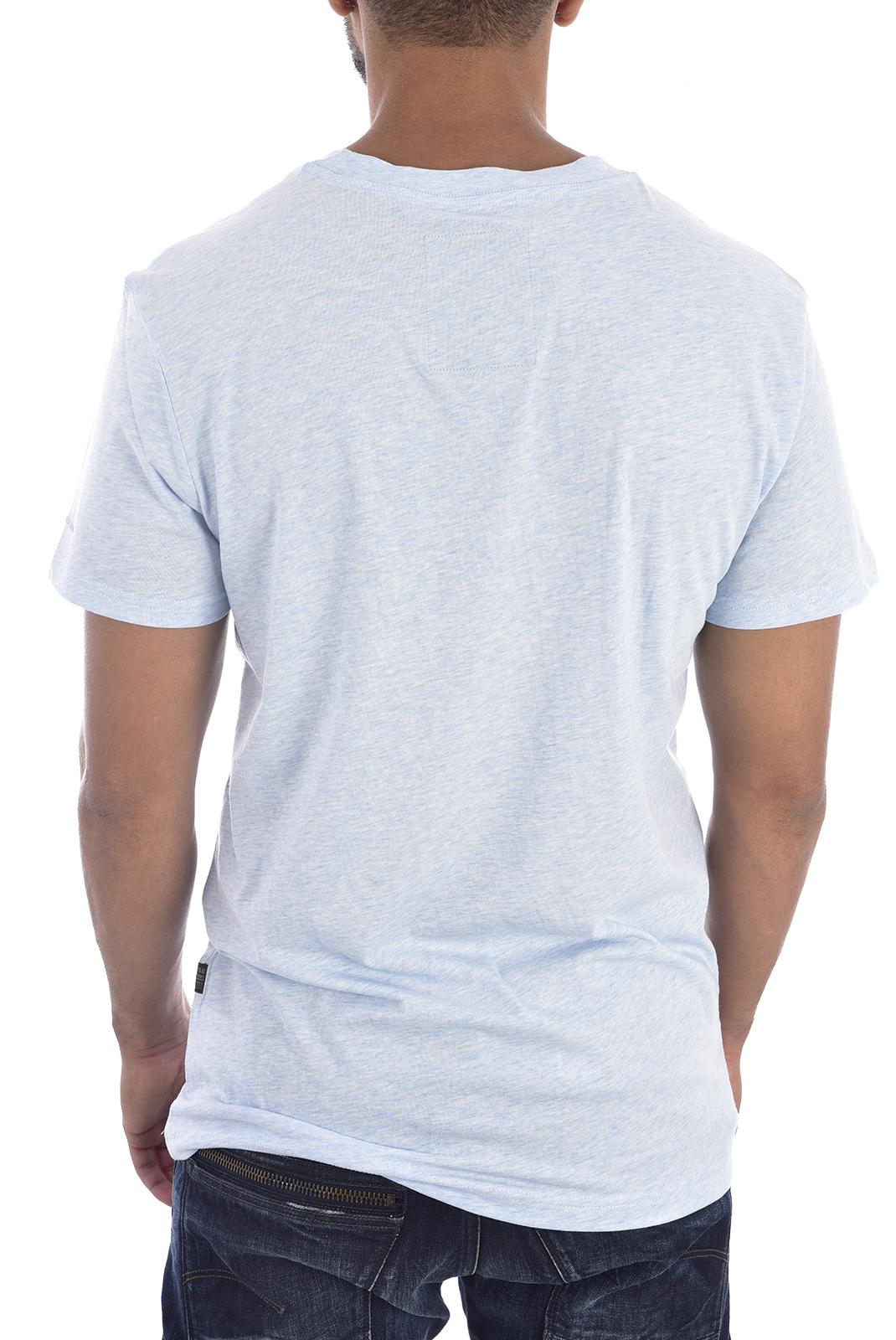 Tee-shirts  G-star D02852-2757 elevor bleu