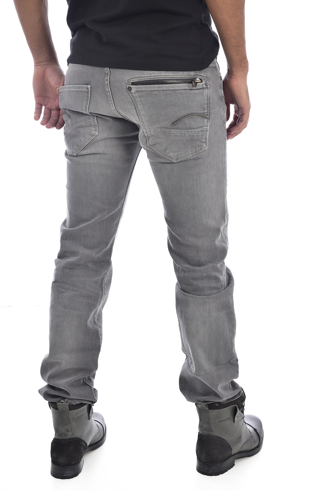 Homme  G-star 51008E-6730-424 attacc gris