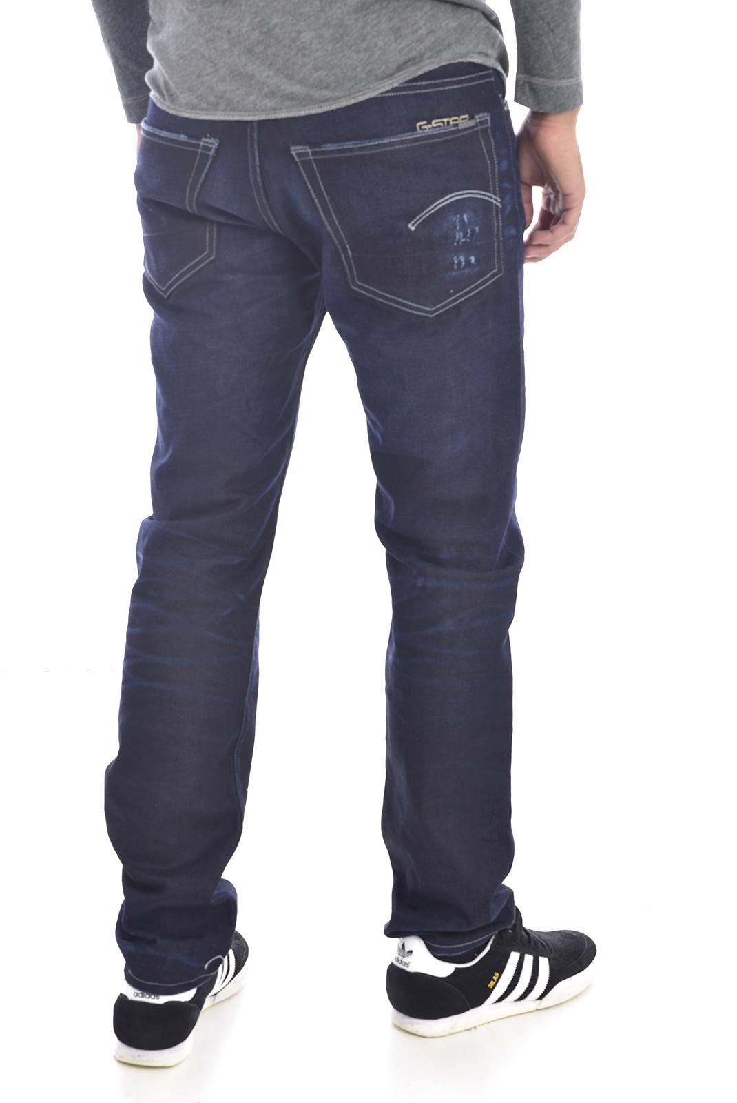 Homme  G-star 50128-5165-89 3301 bleu