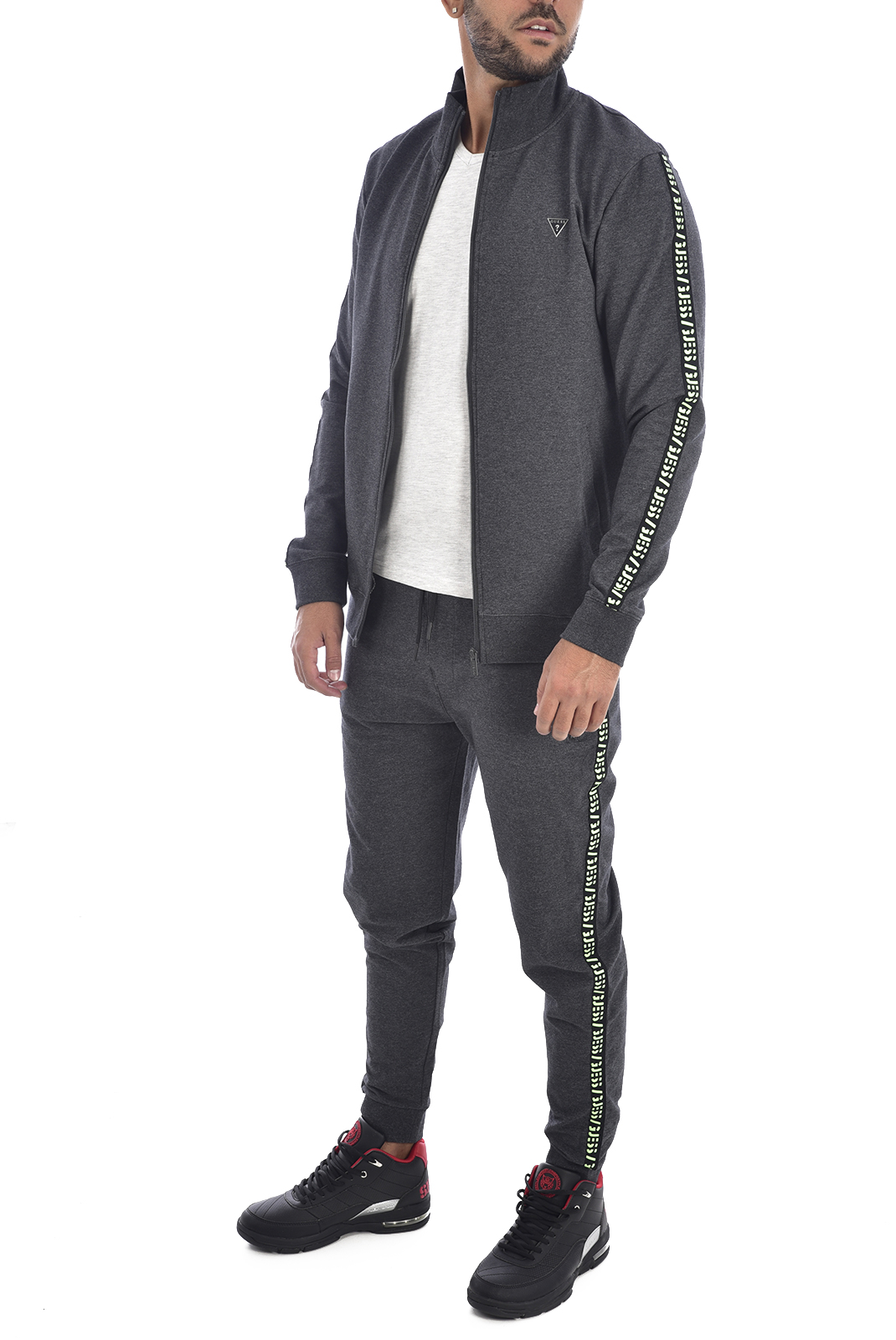 Vestes zippées  Guess jeans U94Q16 K6XF0 G912