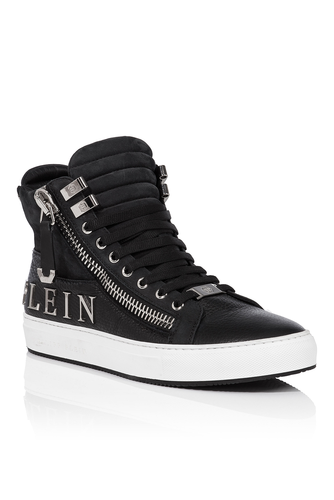 Baskets / Sport  Philipp plein MSC0394 HOME BLACK/NICKEL