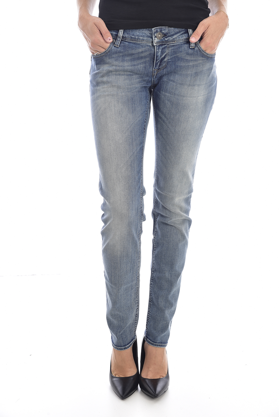 Jeans   Meltin'pot MONIE D1586 UK417 BF14 BLEU