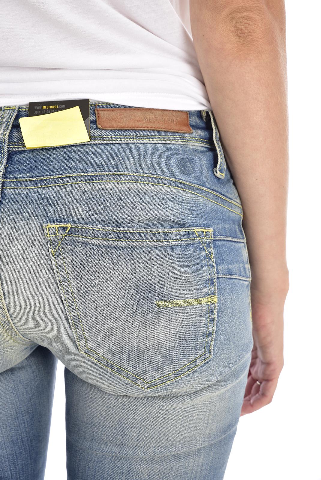 Jeans   Meltin'pot MONIE D1447 UB472 BF14 BLEU