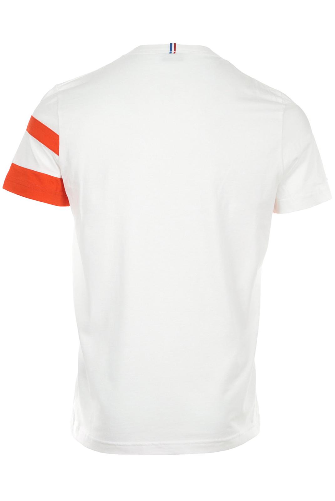 Tee-shirts  Le coq sportif 1911303 BLANC/ORANGE