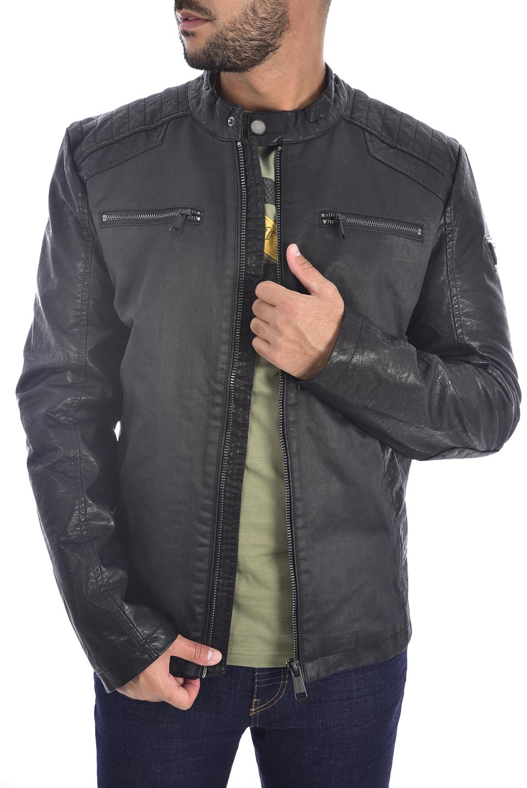 Blousons / doudounes  Guess jeans M94L61 WC2Q0 FJB9 BLACK/GREY COMBO