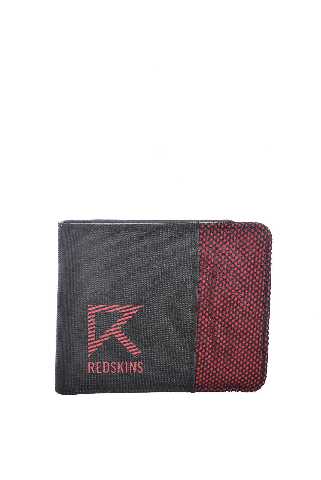 Petite maroquinerie  Redskins HAROLD NOIR/ROUGE