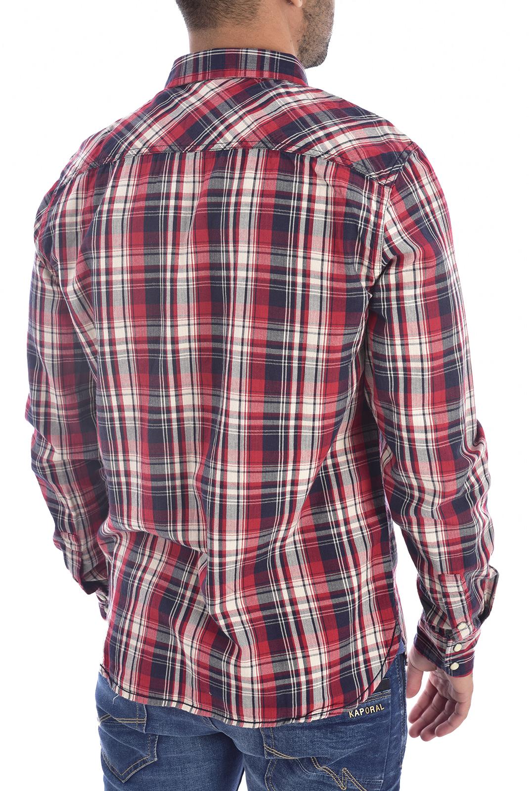 Chemises manches longues  Kaporal GEKAR RED