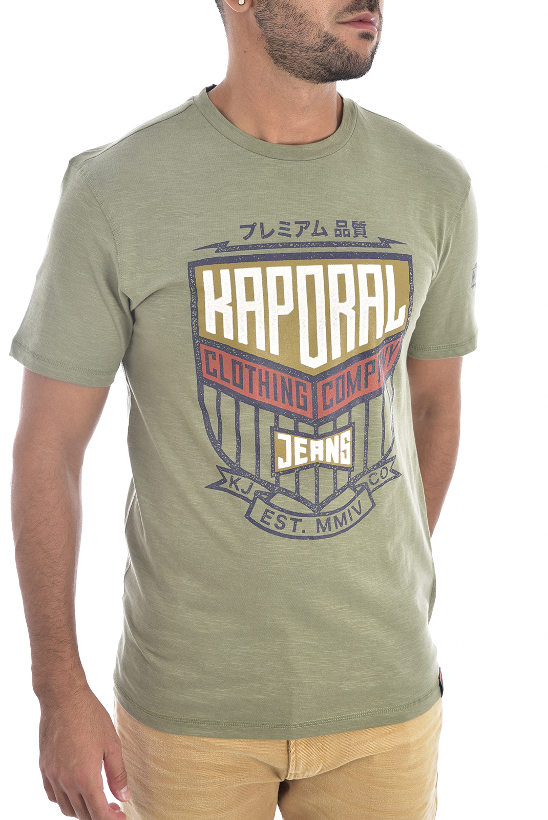 Tee-shirts  Kaporal ORZO ARMY