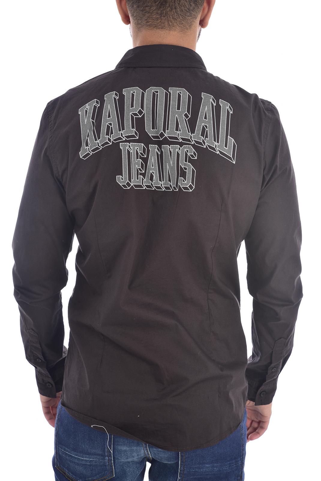 Chemises manches longues  Kaporal ODAM BLACK