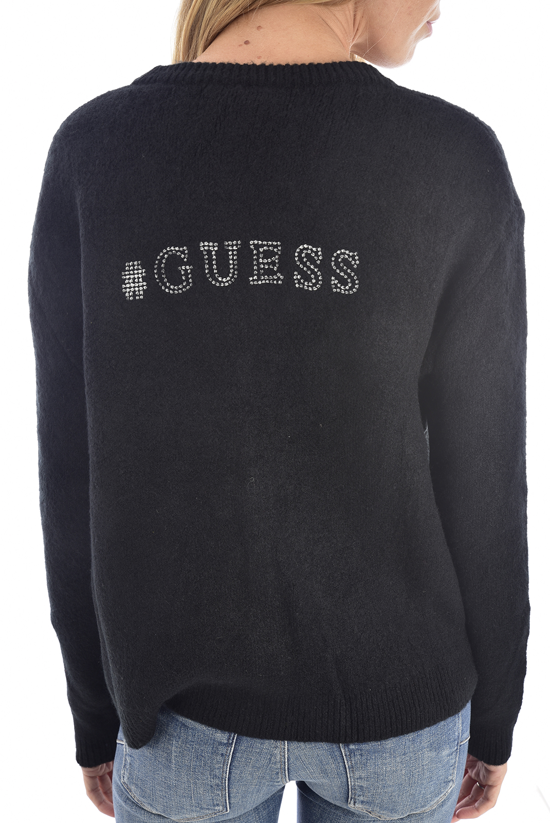 Gilet  Guess jeans O94R04Z1U30 jblk