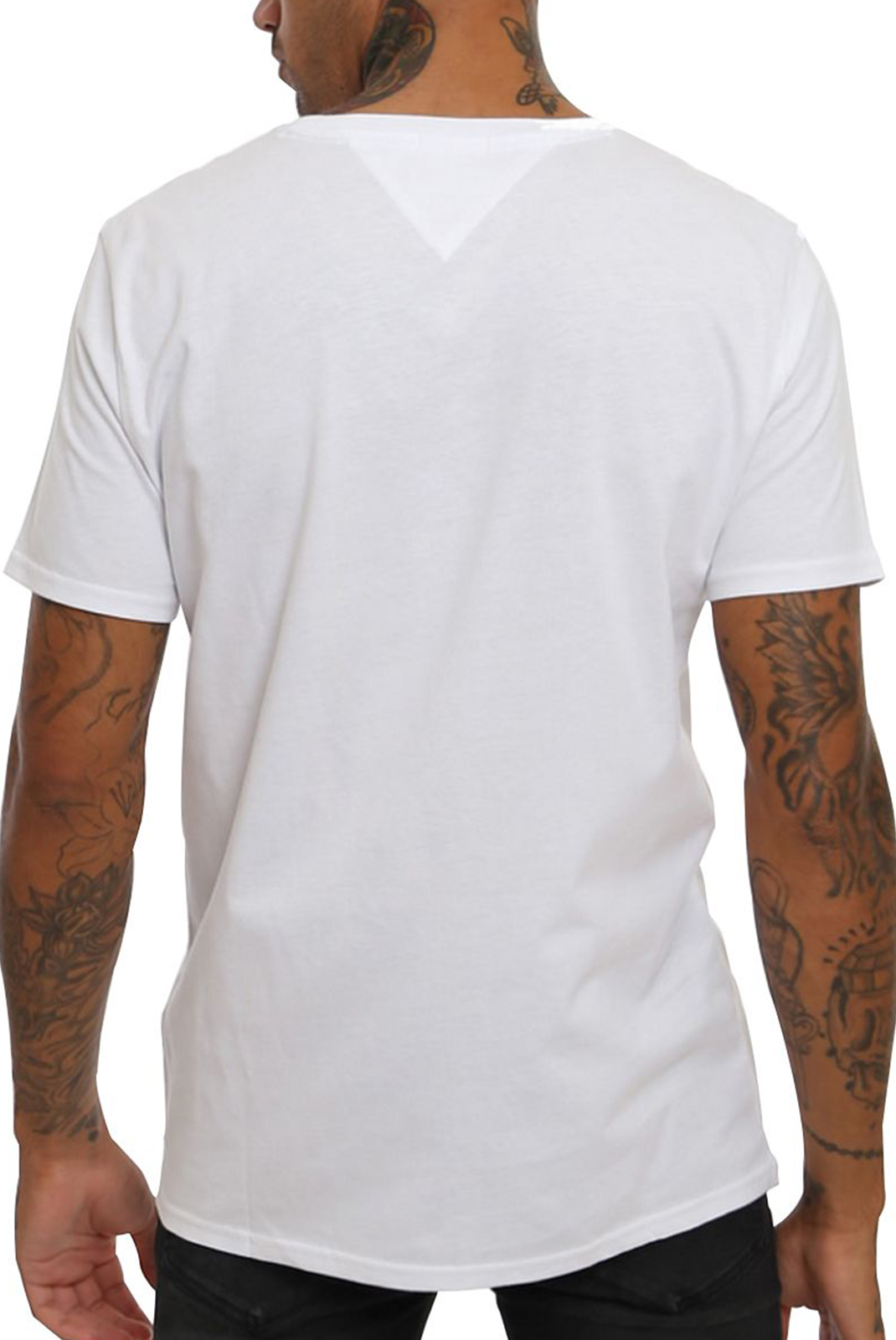 Tee-shirts  Tommy hilfiger DM0DM04411 JERSEY CLASSIC WHITE