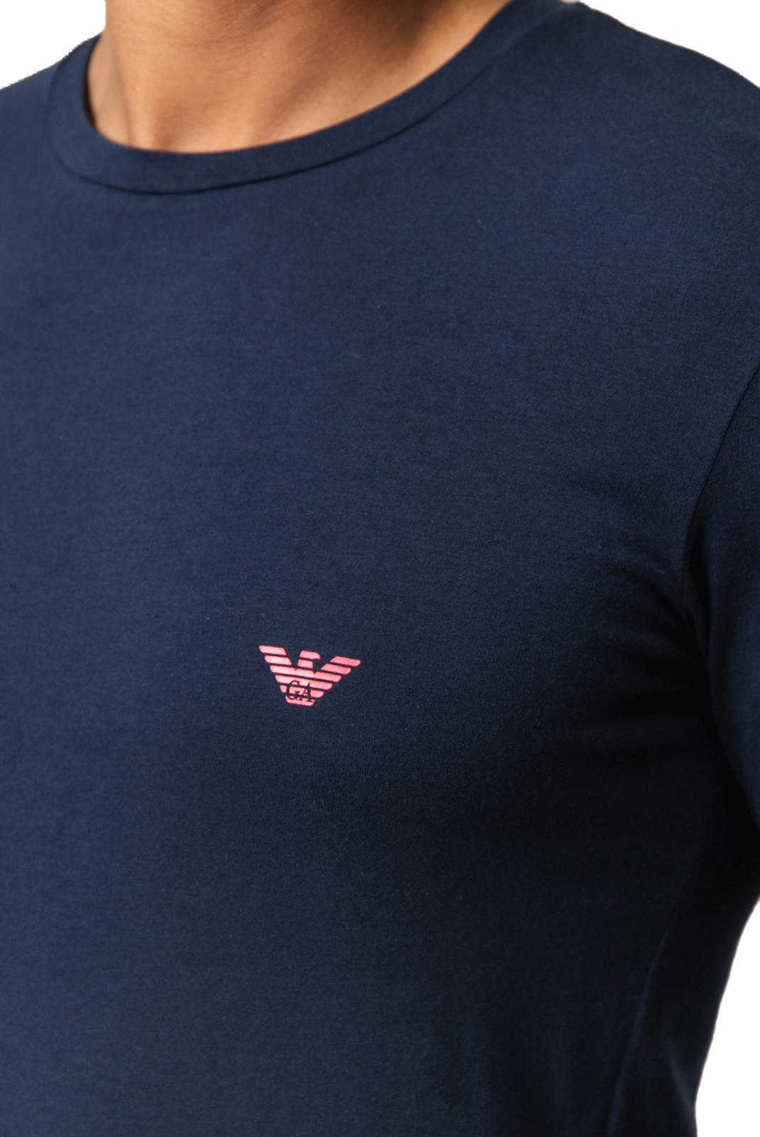 Tee-shirts  Emporio armani 111023 9A725 00135 BLEU
