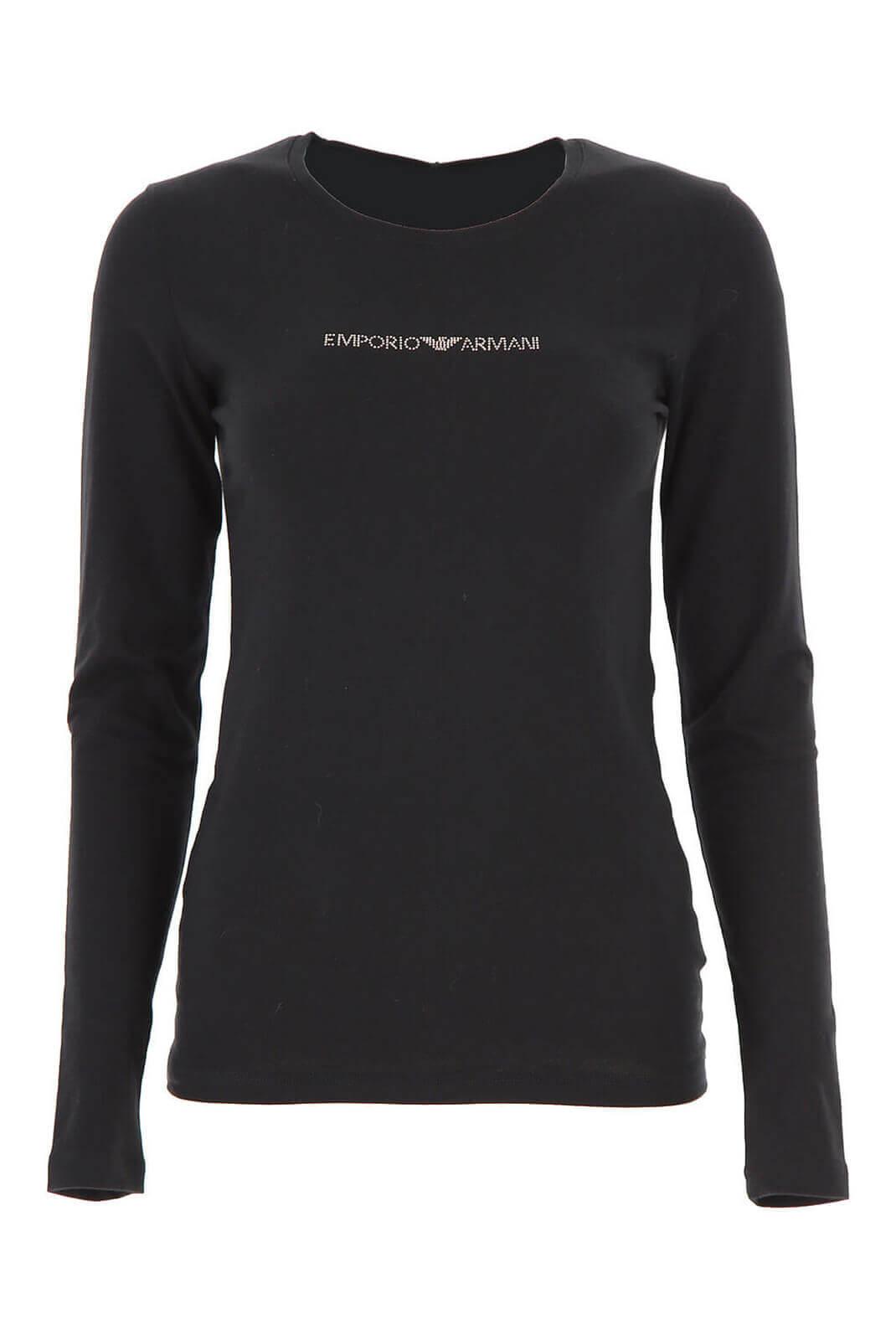 Tee shirt manches longues  Emporio armani 163229 9A263 020 BLACK