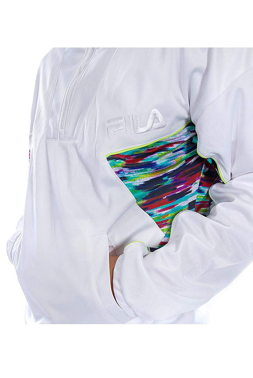 Sweatshirts  Fila 684484 RALLY OIL 01 WHITE