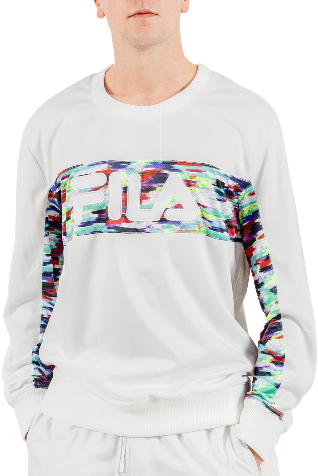 Sweatshirts  Fila 684486 walter 1 WHITE