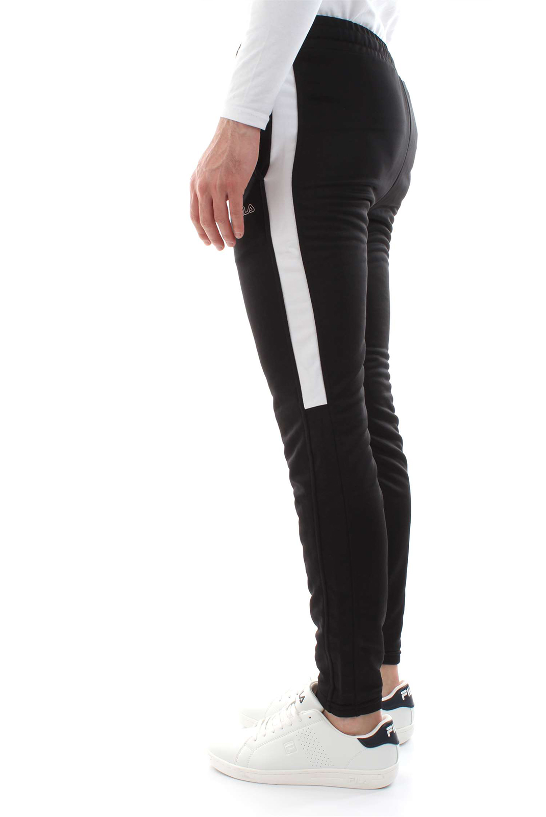 Pantalons sport/streetwear  Fila 682072 SOLAR TIGHT E09 black-bright white
