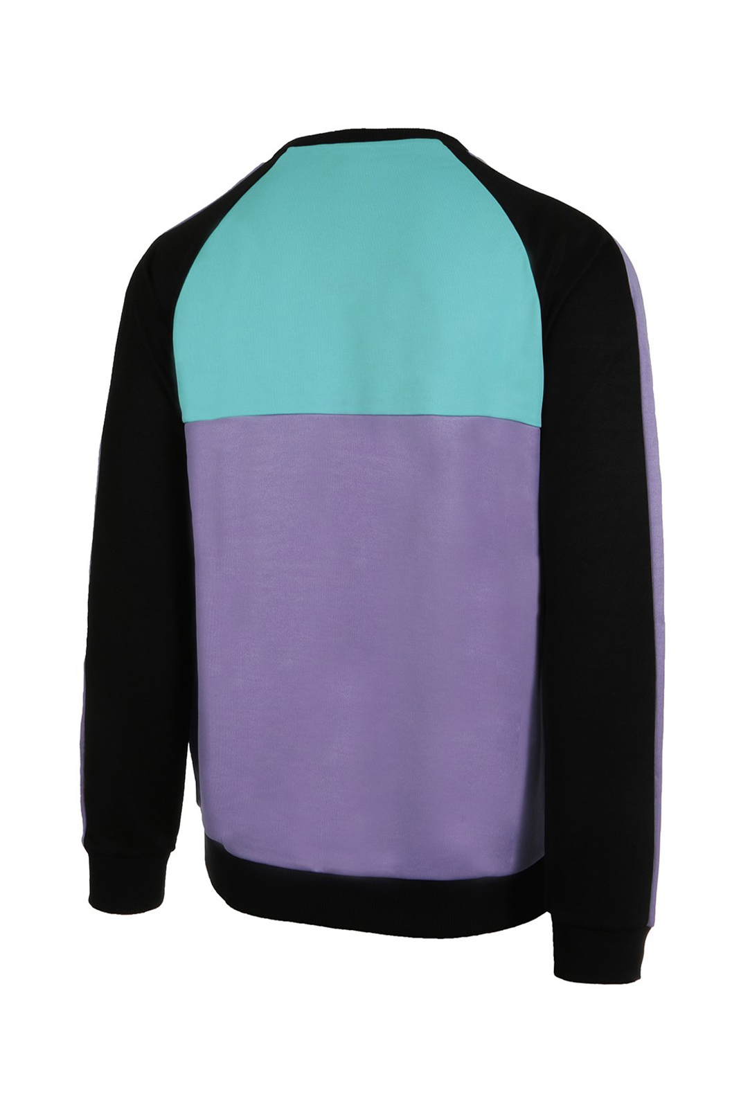 Sweatshirts  Fila 682441 KAIL CREW A167 black-violet tulip-bright white-blue curacao