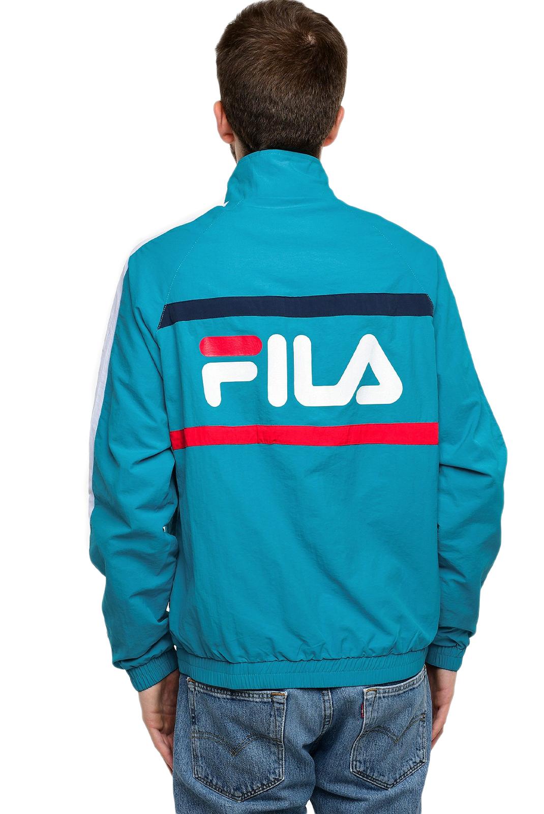 Sweatshirts  Fila 687032 JONA A071 caribbean sea-bright white-black iris