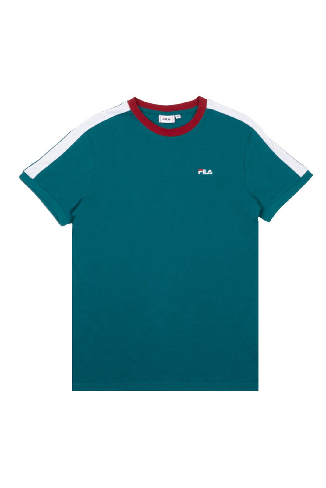 T-Shirts  Fila 687010 A086 shaded spruce-bright white