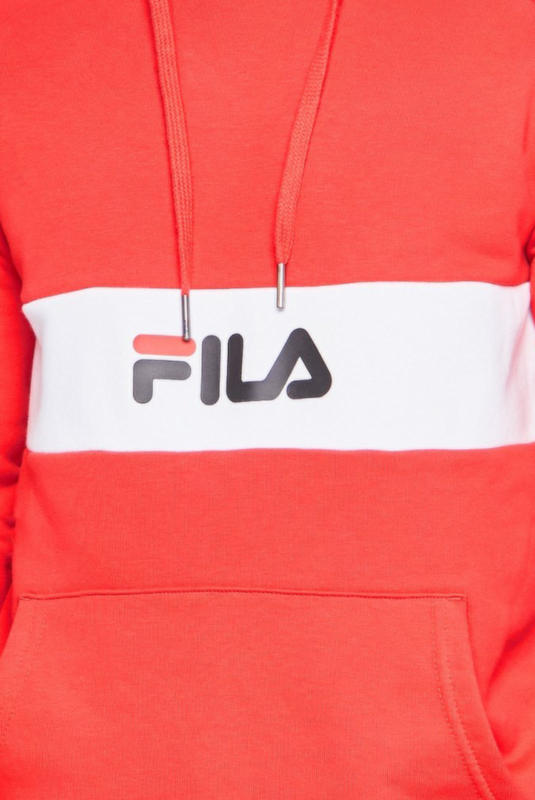 Pulls & Gilets  Fila 687033 jeremy I22 true red-bright white-black