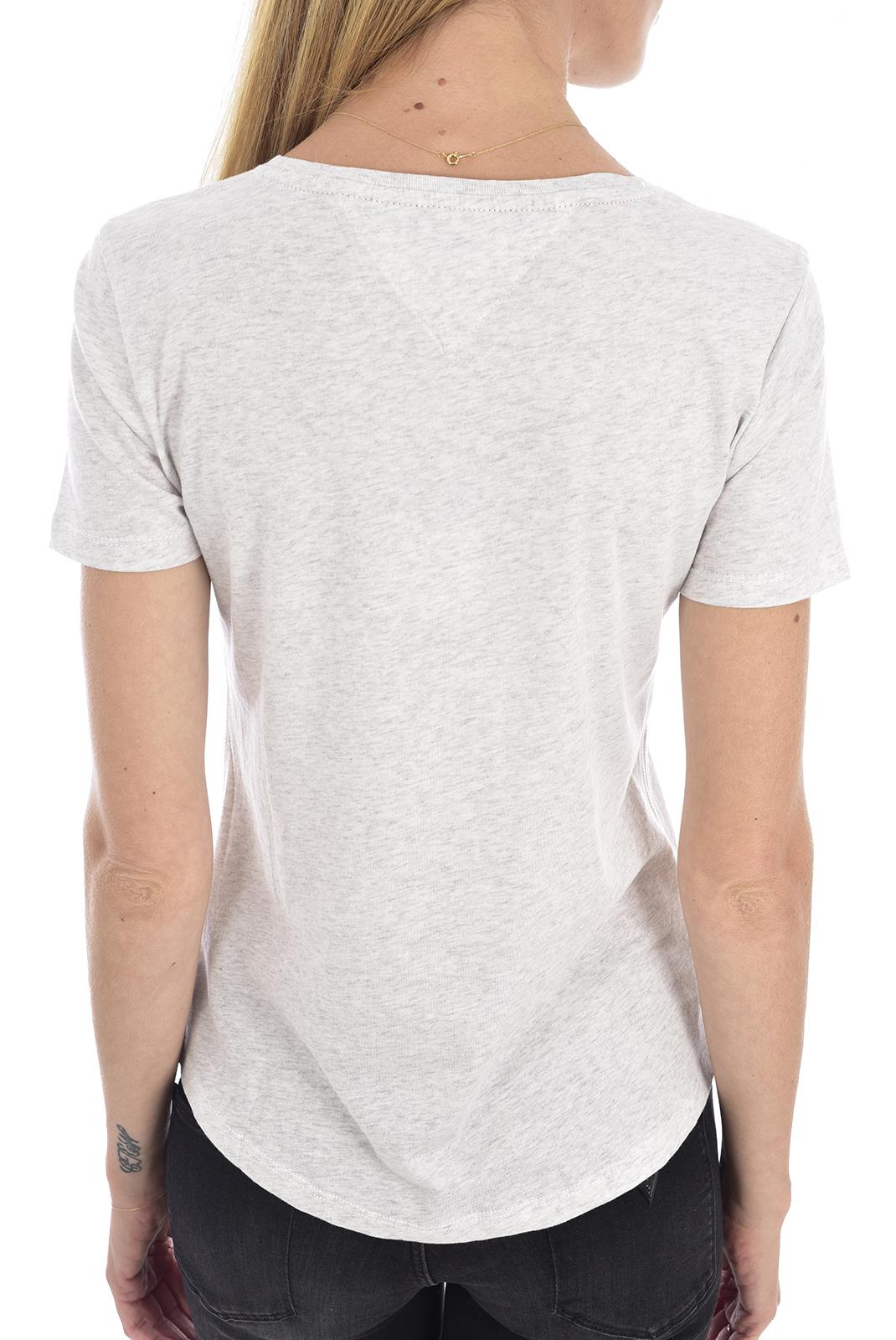 Tee shirt  Tommy hilfiger DW0DW06901 PPP grey htr