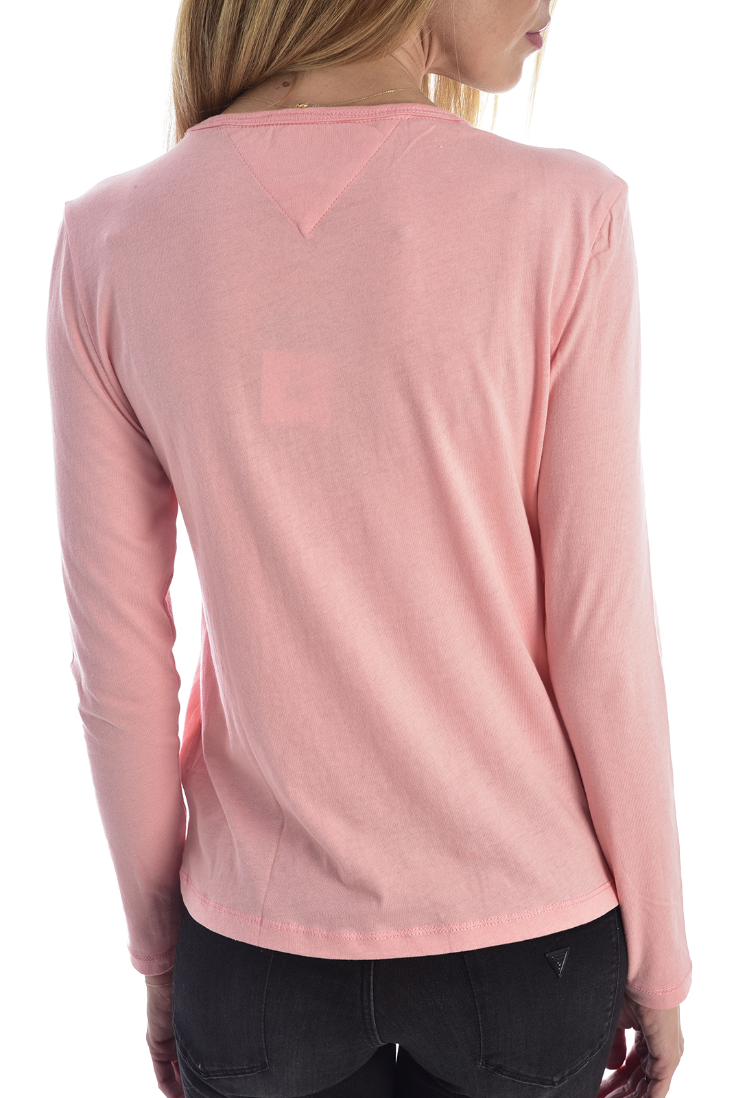 Tee shirt manches longues  Tommy hilfiger DW0DW06900 TE6 pink icing